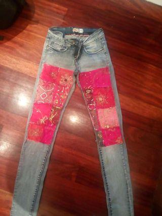 Pantalones comprados en La Romantique