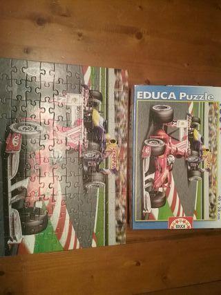 puzzle educa ferrari