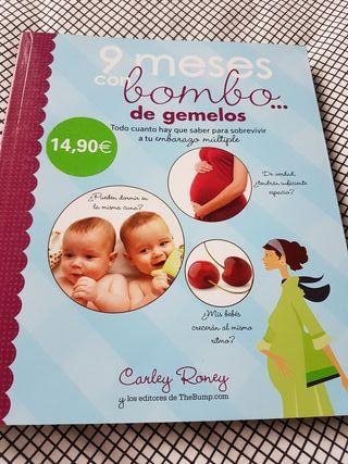 Libro: 9 meses con bombo de gemelos