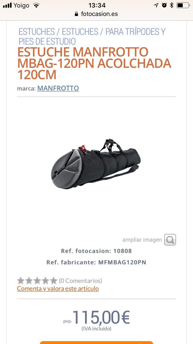 Bolsa Manfroffo MBag G90P