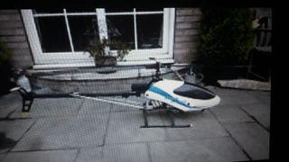 Helicóptero radiocontrol vario acrobatic