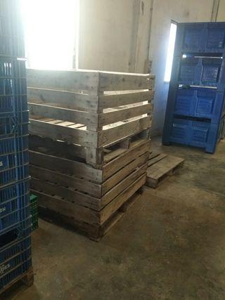 palos de madera baratos