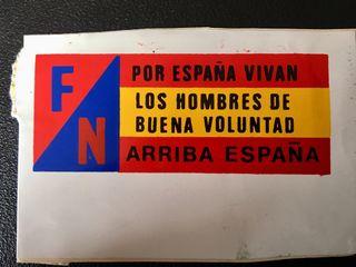 Pegatina Frente Nacional
