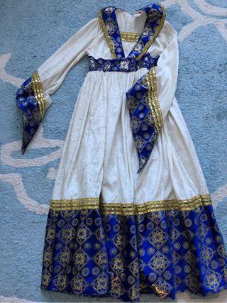 Disfraz de niña de dama medieval