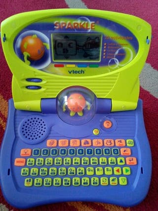 Ordenador juguete esparkle interactivo