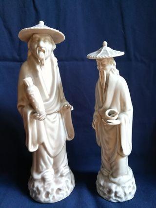 Figuras japonesas porcelana