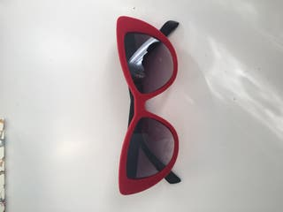Gafas de sol cateye red