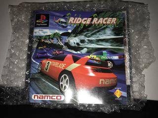 Manual Librito Ridge Racer Psx
