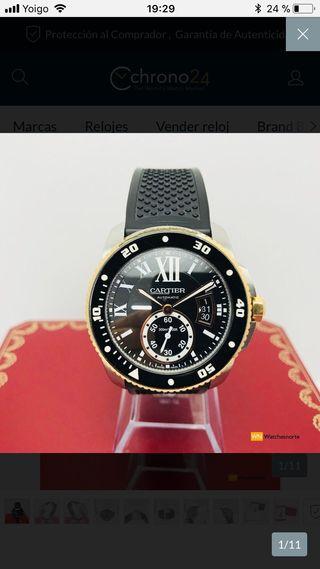 Reloj Calibre Diver de Cartier