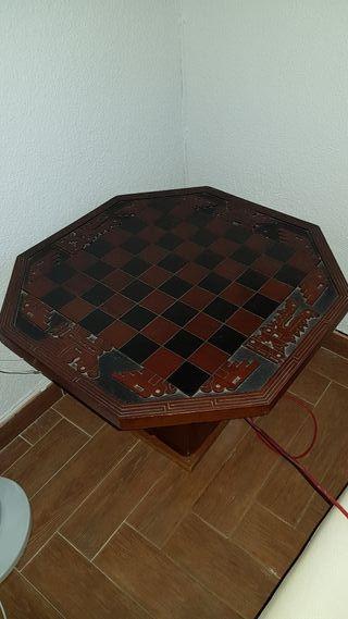 Mesa auxiliar de ajedrez