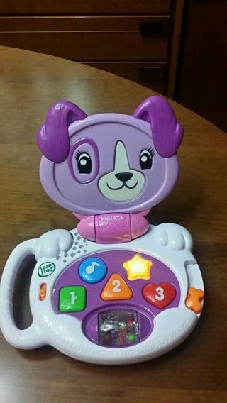 Tablet ordenador infantil plegable sin uso.