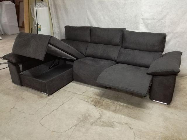 Sofa Relax Motorizado 300cm Chaise Longue De Segunda Mano Por 1 276