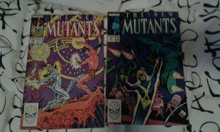 comics marvel americanos x 2