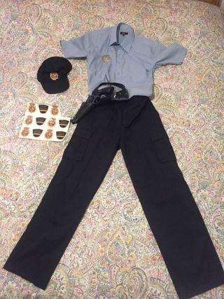Disfraz policía adulto