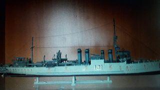 Maquetas barcos guerra