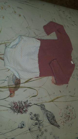 Conjunto bebé niña T.12 meses