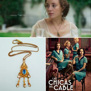Collar antiguo-Las Chicas del Cable NETFLIX