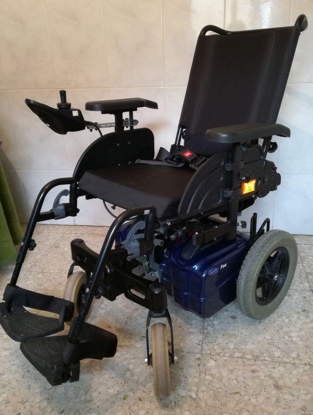 silla de ruedas electrica invacare fox