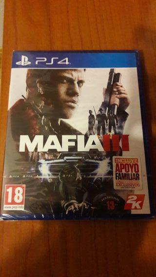 MAFIA III PS4 NUEVO A ESTRENAR