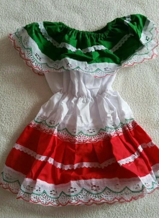 Vestido Mexicana Bebé 3 Meses Nuevo De Segunda Mano Por 5
