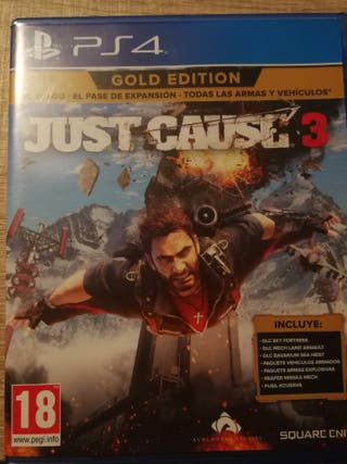 Just cause 3 ps4 con factura