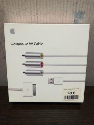Cable Apple AV Composite.