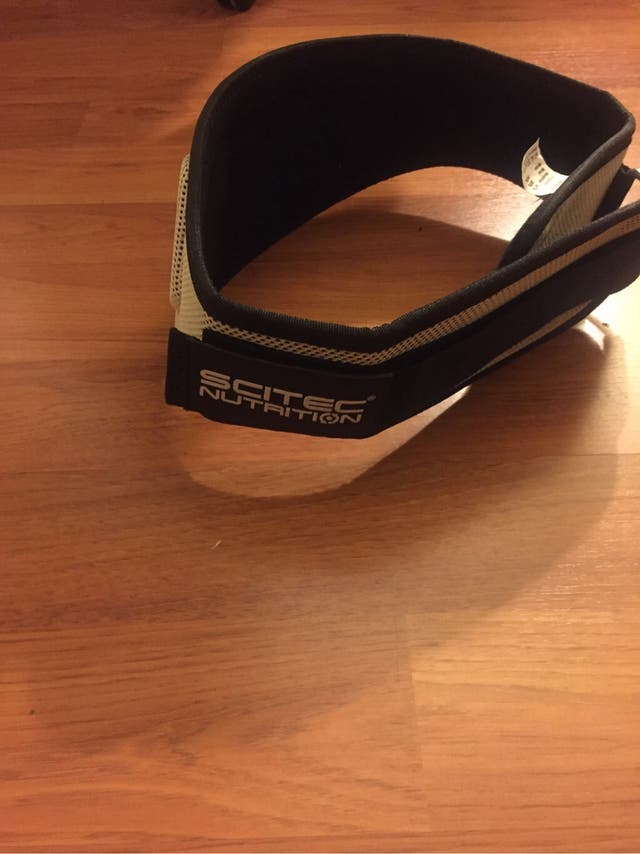 Cinturon gimnasio nuevo