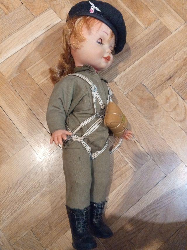 muñeca wendolin paracaidista años 80