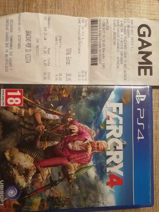 Farcry4 ps4 juego con factura y seguro