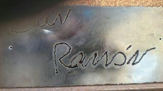 rotulos en hierro forjado