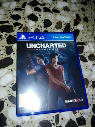 vendo uncharted el legado perdido play4