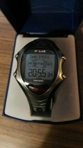reloj treking,polar RS 400