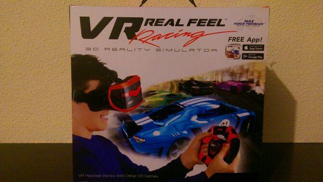 Videojuego,Vr Real Feel Racing de segunda mano por 8 € en San Martín