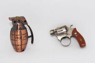 Mecheros de pistola y granada