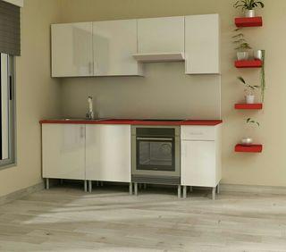 cocinas + encimera de fabrica!!* oferta