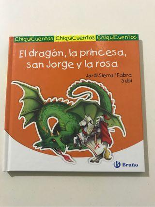 Dragon, princesa, S.Jorge rosa