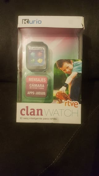 reloj clan watch