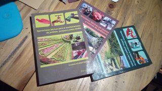 Libros capacitación profesional jardinería