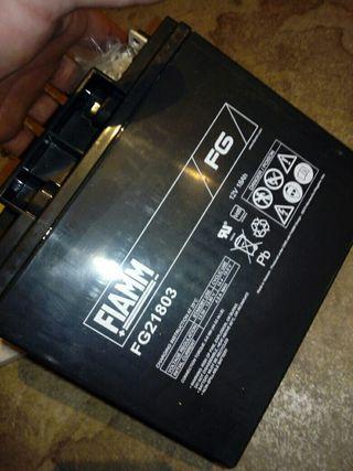 bateria fiamm nueva