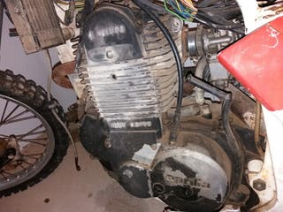 motor Aprilia tuareg 350