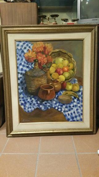 Cuadro pintura oleo L.Gomez