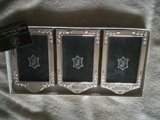 trictico para fotos de plata nuevo