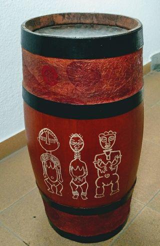 barril decorado
