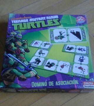 Dominó de Tortugas Ninja, desde 4 años