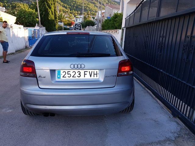 Audi A3 2005 diesel 2.0 140 caballos.