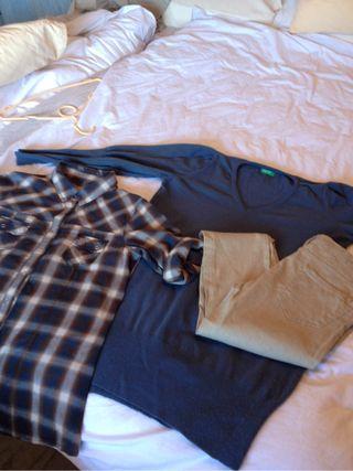 Jersey, pantalon, camisa