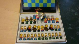 ajedrez de los simpson