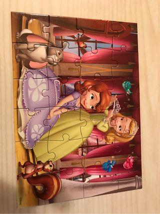 Puzzle Princesa Sofía 3