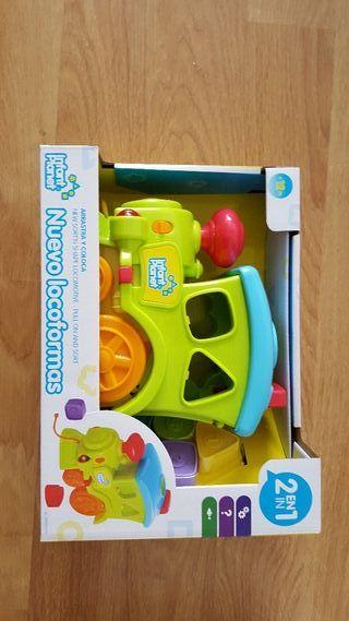 tren de juguete de Infant Planet a estrenar