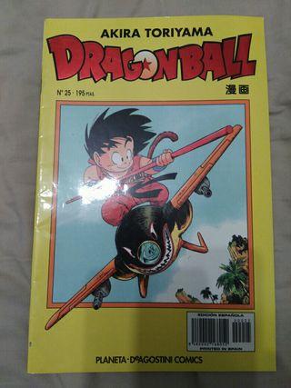 DRAGON BALL SERIE BLANCA AMARILLA NUMERO 25